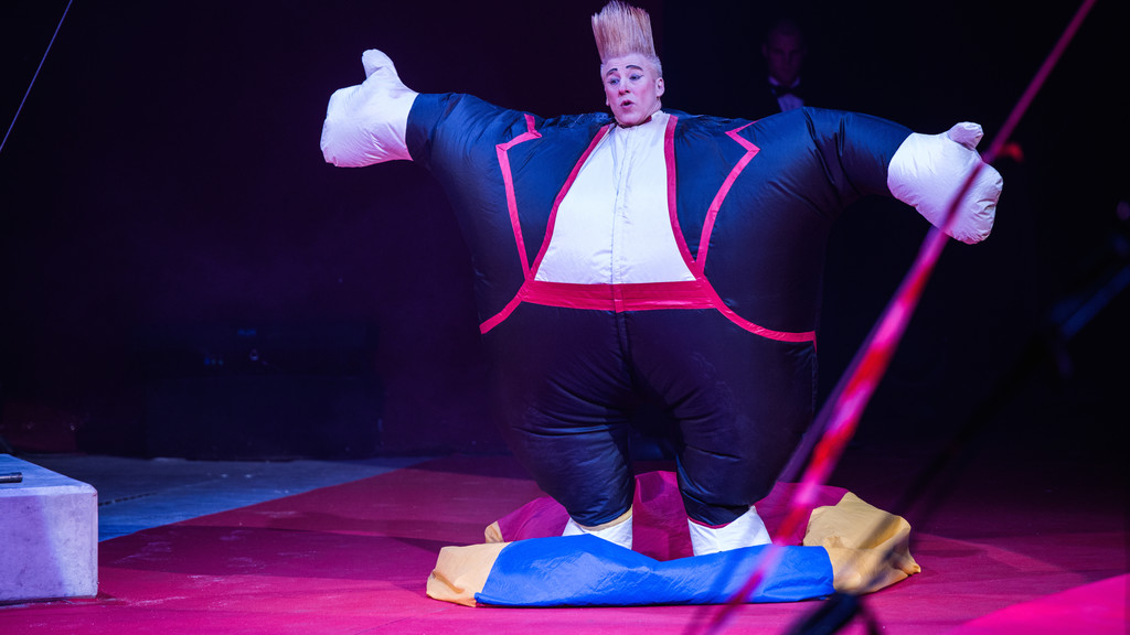 Festival International du Cirque 2015 - Numéro Bello Nock - Clown
