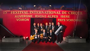 Festival International du Cirque 2016 - photo de l'Orchestre