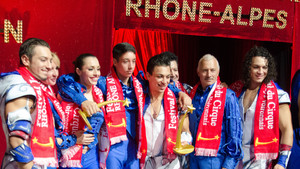 Festival International du Cirque 2015 - remise des prix Famille Casselly - Messoudi Brothers
