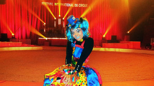 Festival International du Cirque 2018 - Numéro Jinie clownette