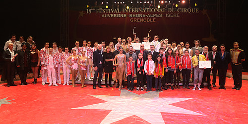 Gagnants Festival International du Cirque 2019